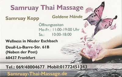 Samruay Thai-Massage
